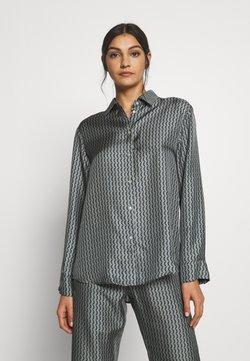 ASCENO - LONDON - Pyjama top - grey/black