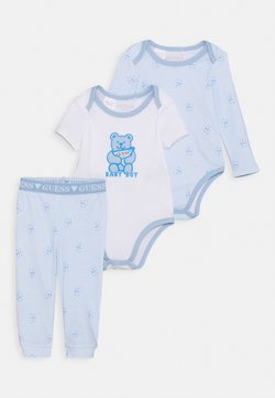 Guess - BODY PANTS - Nachtwäsche Set - blue/white
