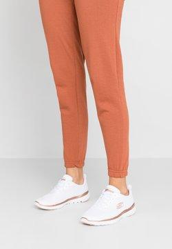 Skechers Sport - FLEX APPEAL 3.0 - Sneaker low - white/rose gold