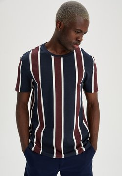 DeFacto - T-Shirt print - navy