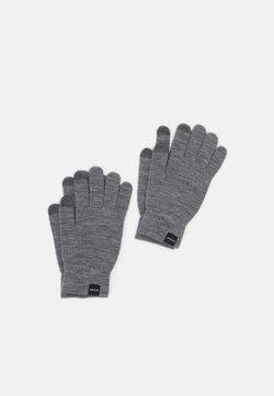 Jack & Jones - JACSONNY GLOVES 2 PACK - Fingerhandschuh - grey melange