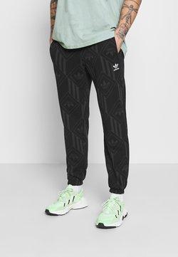 adidas Originals - MONO - Jogginghose - black/boonix