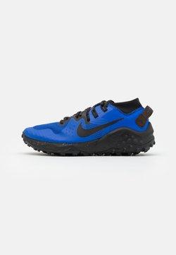 Nike Performance - WILDHORSE 6 - Zapatillas de trail running - racer blue/black/baroque brown