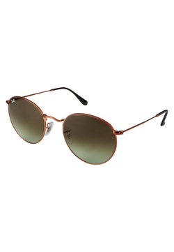 Ray-Ban - 0RB3447 ROUND METAL - Solbriller - bronze/copper