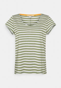 Esprit - SLUB - T-Shirt print - light khaki