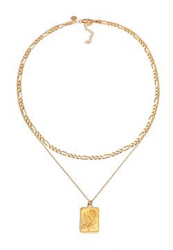 Elli - LAYER LOOK ROSE - Halsband - gold