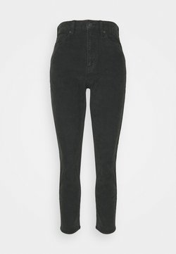 American Eagle - MOM - Trousers - black