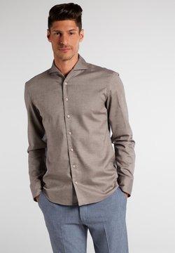 Eterna - SLIM FIT - Hemd - beigebraun