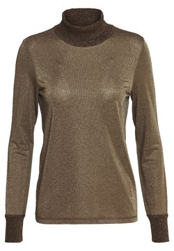 Mos Mosh - CASIO ROLL NECK - Sweter - chocolate chip