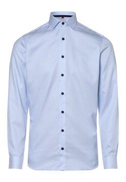 FINSHLEY & HARDING - Hemd - blau weiß