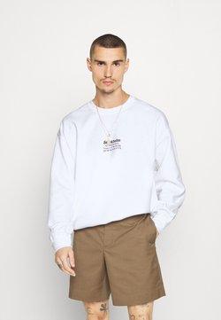Topman - STOCKHOLM HERITAGE PRINT - Sweatshirt - white