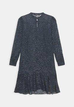 Bruuns Bazaar - ALEXANDRIA CAMARI DRESS - Vestido camisero - navy blue
