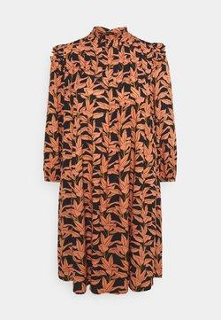 YAS Petite - YASJOSEPHINE DRESS - Freizeitkleid - black/josephine