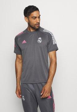 adidas Performance - REAL MADRID AEROREADY SPORTS FOOTBALL - Equipación de clubes - grey five
