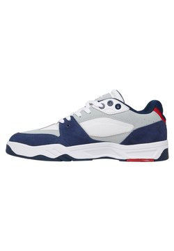 DC Shoes - MASWELL - Sneaker low - white/navy/red