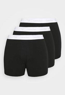Calvin Klein Underwear - STRETCH BRIEF 3 PACK - Shorty - black