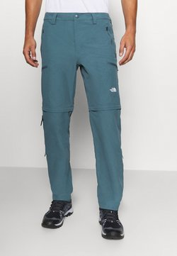 The North Face - EXPLORATION CONVERTIBLE PANT - Outdoor-Hose - mallard blue