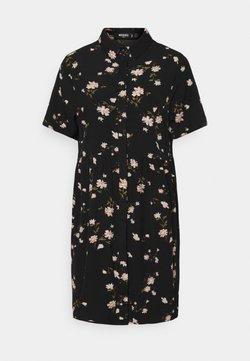 Missguided Tall - SMOCK DRESS POLKA - Hverdagskjoler - black