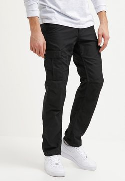 Carhartt WIP - AVIATION PANT COLUMBIA - Cargohose - black rinsed