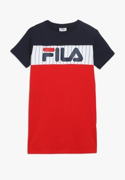 Fila - RUBI - Jerseykleid - true red/bright white/black iris