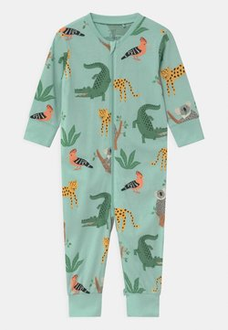 Lindex - KOALA & FRIENDS UNISEX - Pyjama - light dusty turquoise