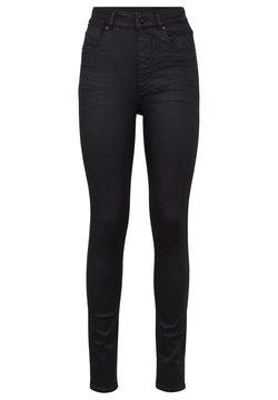 G-Star - STRINGFIELD ULTRA HIGH SKINNY  - Jeans Skinny Fit - black metalloid cobler
