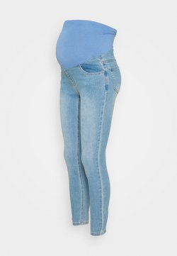 Cotton On - MATERNITY SUPER STRETCH - Skinny-Farkut - bells blue