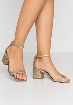 Even&Odd Wide Fit - Sandalen - gold