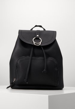 New Look - CLAUDE RING BACKPCK - Rugzak - black