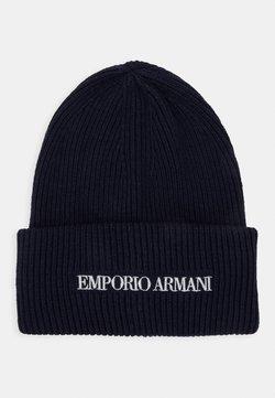 Emporio Armani - UNISEX - Beanie - navy blue