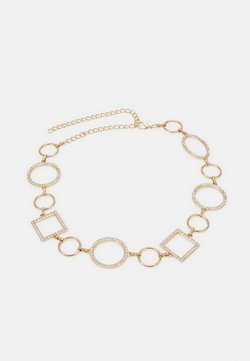 Pieces - PCNIPPA WAIST CHAIN BELT - Midjeskärp - gold-coloured