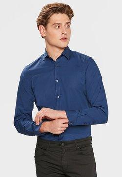 WE Fashion - SLIM FIT STRETCH - Hemd - blue/grey