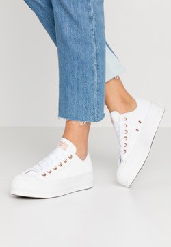 Converse - CHUCK TAYLOR ALL STAR LIFT - Baskets basses - white