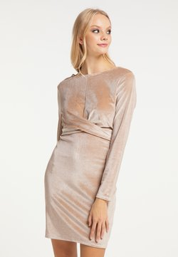 myMo at night - Cocktailkleid/festliches Kleid - beige
