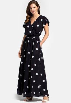 HotSquash - Maxikjoler - white polka dots on black