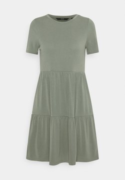 Vero Moda Petite - VMFILLI CALIA DRESS - Vestido ligero - laurel wreath