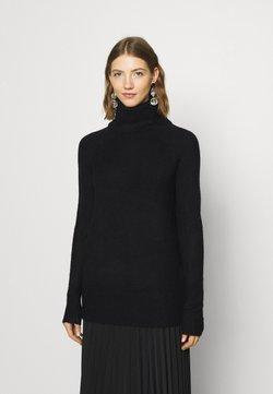 ONLY - ONLCILLE ROLLNECK - Stickad tröja - black