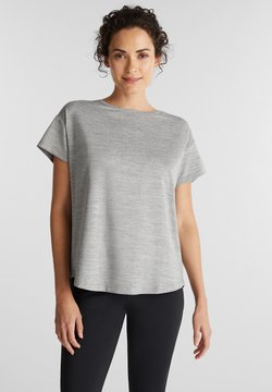 Esprit Sports - T-Shirt print - medium grey