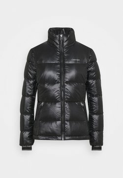 Calvin Klein - LOFTY SHORT JACKET - Daunenjacke - black
