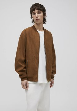 PULL&BEAR - Giubbotto Bomber - brown