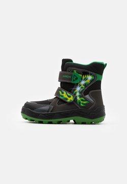 Lurchi - KENUA SYMPATEX - Snowboot/Winterstiefel - black/green