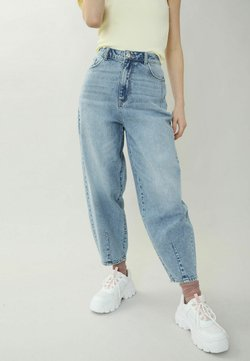 Pimkie - SLOUCHY HIGH WAIST - Jeans Relaxed Fit - hellblau