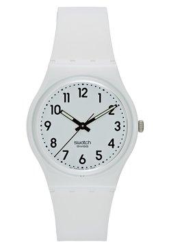 Swatch - JUST WHITE SOFT - Uhr - white