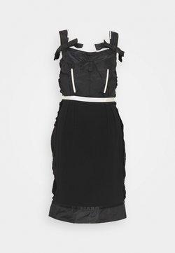 MOSCHINO - DRESS - Shift dress - fantasy black