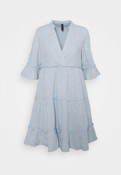 YAS - YASLIMA SHORT DRESS ICON - Kjole - cashmere blue