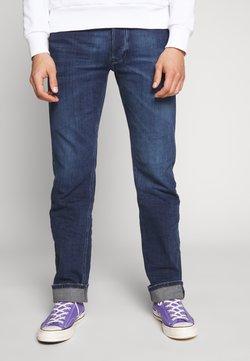 Diesel - LARKEE - Jeans Straight Leg - dark-blue denim