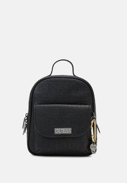Guess - LANE BACKPACK - Reppu - black