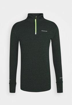 Endurance - TUNE MIDLAYER - Camiseta de deporte - deep forest