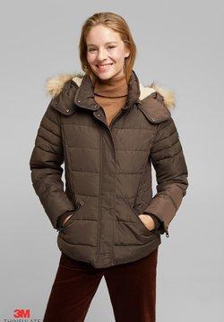 Esprit - Winterjacke - dark brown