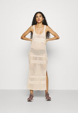 Abercrombie & Fitch - BARE - Strickkleid - cement